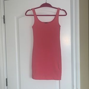 H&M- Light Pink Fitted Dress